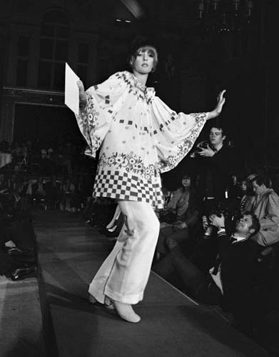 #MS027A London Fashion Week, 1970, Ossie Clark Fashion Show (1st Edition)